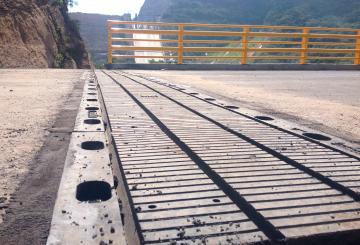Juntas de dilatación para puentes