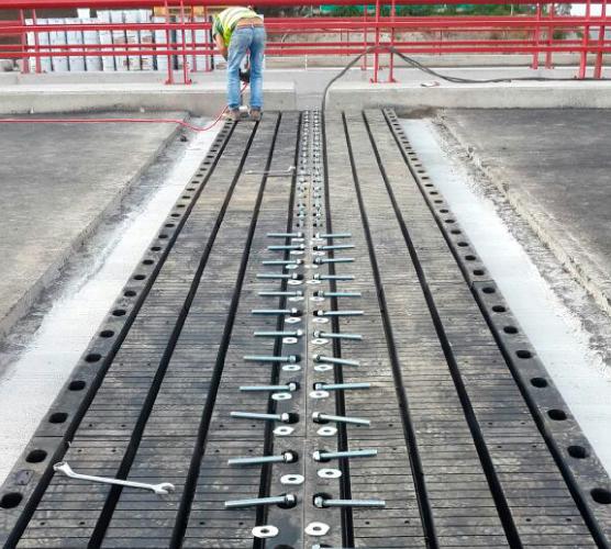 Imagen de junta para puentes instalación