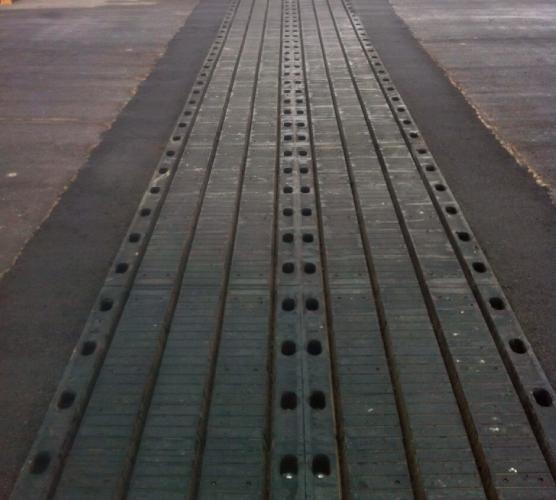 Imagen de una juanta para puentes