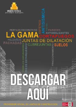 Imagen de portada catalogo Juntas dilatación edificios