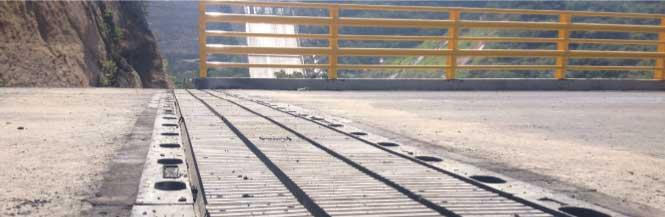 Juntas de dilatación de puentes